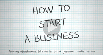 How to start a business video start image